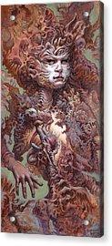 Interwoven Acrylic Print by Ethan Harris