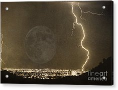 Into The Night Acrylic Print by James BO  Insogna