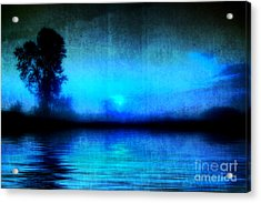Acrylic Print featuring the photograph Into The Night by Joel Witmeyer