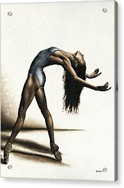 Invitation To Dance Acrylic Print by Richard Young