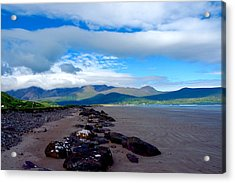 Beach Acrylic Print by Pearse Gilmore