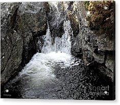 Irish Waterfall Acrylic Print by Patrick J Murphy