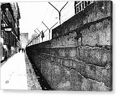 Iron Curtain Acrylic Print by Lyle Brown