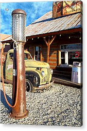Is That You - Route 66 California Acrylic Print by Glenn McCarthy Art and Photography