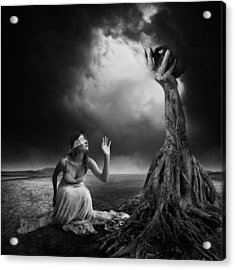 Is There Anybody Out There? Acrylic Print by Erik Brede