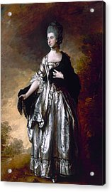 Isabella Viscountess Molyneux Later Countess Of Sefton Acrylic Print by Thomas Gainsborough