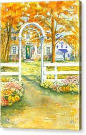 Isaiah Hall Acrylic Print by Robert Haeussler