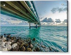 Islamorada Crossing Acrylic Print by Dan Vidal