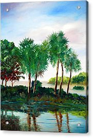 Isle Of Palms Acrylic Print by Phil Burton