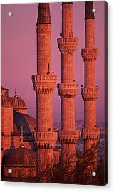 Istanbul, Turkey, Blue Mosque Acrylic Print by Grant Faint