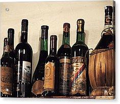 Italian Wine Acrylic Print by Marion McCristall