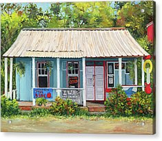 Iwa Gallery Acrylic Print by Stacy Vosberg