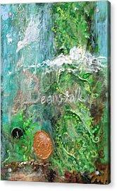 Jack And The Beanstalk Acrylic Print by Jennifer Kelly