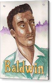James Baldwin Acrylic Print by Whitney Morton