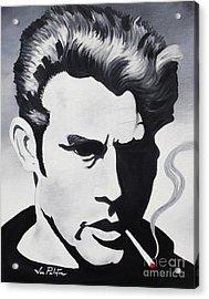 James Dean  Acrylic Print by Joseph Palotas
