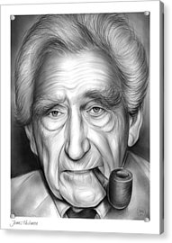 James Whitmore Acrylic Print by Greg Joens
