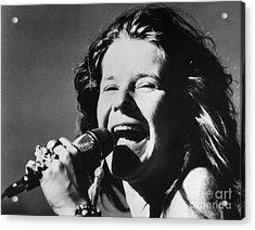 Janis Joplin (1943-1970) Acrylic Print by Granger