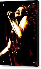Janis Joplin Acrylic Print by DB Artist