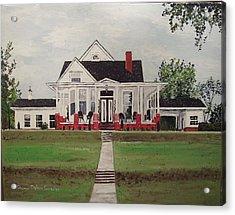 Jarrard House Acrylic Print by Sharon  De Vore