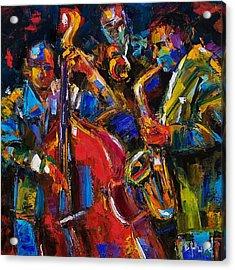 Jazz Acrylic Print by Debra Hurd
