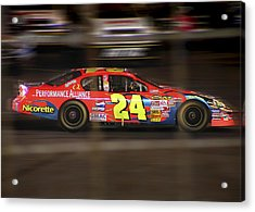 Jeff Gordons Cup Car  Acrylic Print by Kenneth Krolikowski