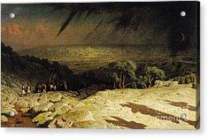Jerusalem Acrylic Print by Jean Leon Gerome