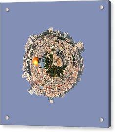 Jerusalem-small Planet Acrylic Print by Galina Gutarin