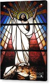 Jesus Is Our Savior Acrylic Print by Gaspar Avila