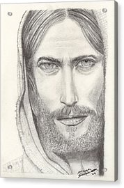 Jesus Of Nazareth Acrylic Print by Shawn Sanderson