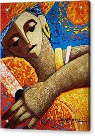 Jibara Y Sol Acrylic Print by Oscar Ortiz