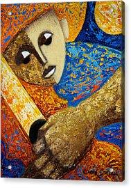 Jibaro Y Sol Acrylic Print by Oscar Ortiz