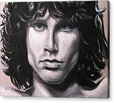 Jim Morrison - The Doors Acrylic Print by Eric Dee