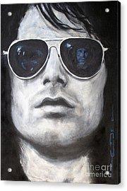 Jim Morrison IIi Acrylic Print by Eric Dee