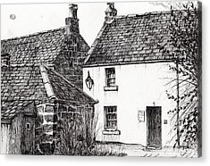 Jm Barrie's Birthplace Acrylic Print by Vincent Alexander Booth