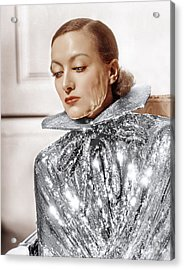 Joan Crawford, Photo By Hurrell, Ca Acrylic Print by Everett