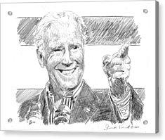 Joe Biden Acrylic Print by Shawn Vincelette