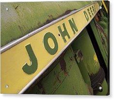 John Deere Acrylic Print by Jeff Ball