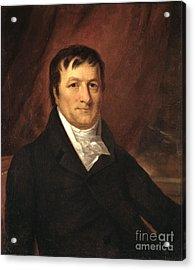 John Jacob Astor, American Businessman Acrylic Print by Science Source