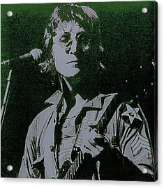 John Lennon Acrylic Print by David Patterson