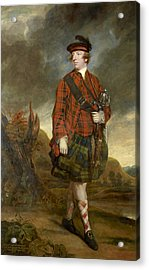 John Murray 4th Earl Of Dunmore Acrylic Print by Joshua Reynolds