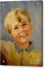 Joshua's Brother Acrylic Print by Marilyn Jacobson