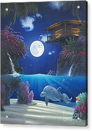 Journey In Paradise Acrylic Print by Al Hogue