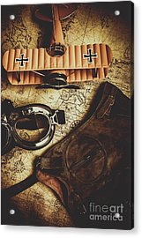Journey Of An Antique Pilot Acrylic Print by Jorgo Photography - Wall Art Gallery