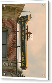 Juan's Furniture Store Acrylic Print by Robert Youmans