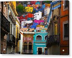 Juegos In Guanajuato Acrylic Print by Skip Hunt