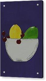 Juicy Fruit Acrylic Print by Katie Slaby