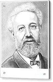 Jules Verne Acrylic Print by Murphy Elliott