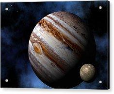 Jupiter Acrylic Print by David Robinson