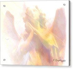 Just A Glimmer  Acrylic Print by Jean Gugliuzza