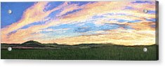 Just After II Acrylic Print by Jon Glaser